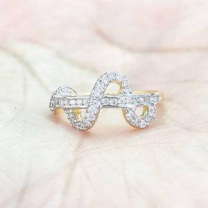 907001 แหวนเพชรดีไซน์สวย